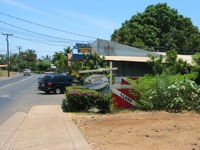 North end of Front Street, Lahaina.